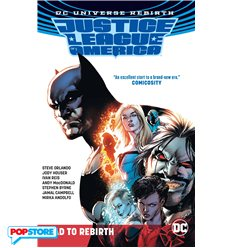 Dc Universe Rebirth - Justice League Of America - The Road To Rebirth