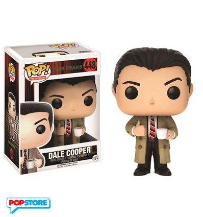 Funko Pop Twin Peaks Dale Cooper Popstore