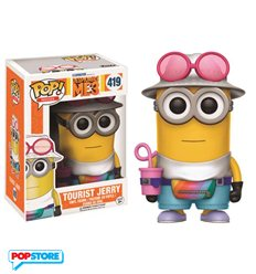 Cattivissimo Me 3 - Pop Funko Vinyl Figure 419 Tourist Jerry