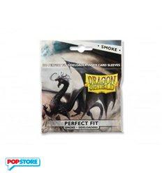 Dragon Shield - 100 Bustine Dragon Shield - Standard Perfect Fit Sideloading Smoke