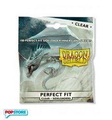 Dragon Shield - 100 Bustine Dragon Shield - Standard Perfect Fit Sideloading Trasparenti