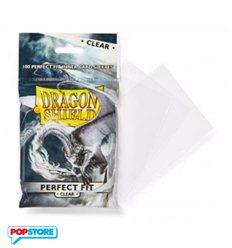 Dragon Shield - 100 Bustine Dragon Shield - Standard Perfect Fit Trasparenti