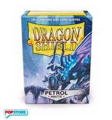 Dragon Shield - 100 Bustine Dragon Shield - Matte Petrol