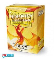 Dragon Shield - 100 Bustine Dragon Shield - Matte Yellow