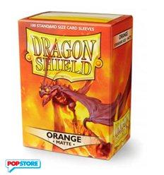 Dragon Shield - 100 Bustine Dragon Shield - Matte Orange