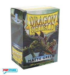 Dragon Shield - 100 Bustine Dragon Shield - Matte Green