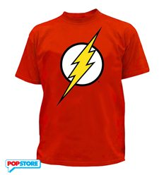 DC Comics T-Shirt - Flash Logo L