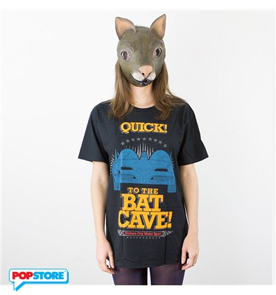 DC Comics T-Shirt - Quick To The Batcave S