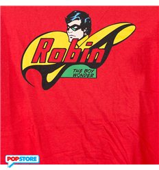 DC Comics T-Shirt - Robin Boy Wonder L