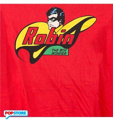 DC Comics T-Shirt - Robin Boy Wonder L
