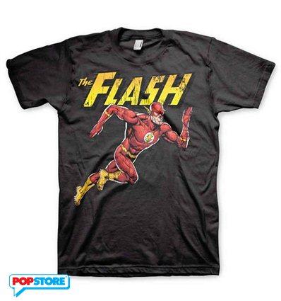 DC Comics T-Shirt - The Flash Running L