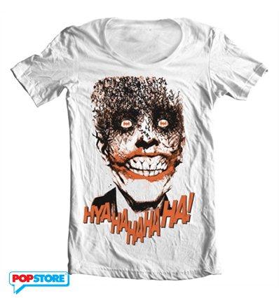 DC Comics T-Shirt - The Joker Hyahahaha S
