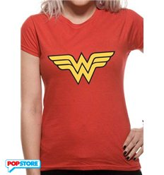 DC Comics T-Shirt - Wonder Woman Logo L