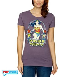 DC Comics T-Shirt - Wonder Woman Viola Donna XS