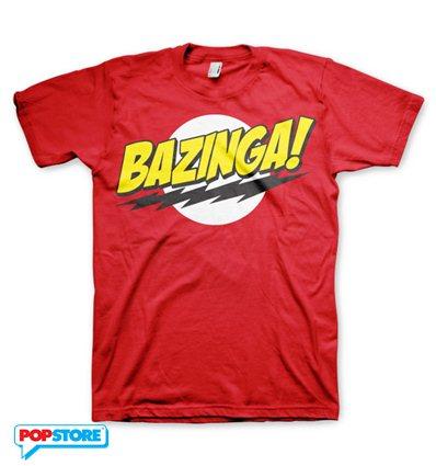 The Big Bang Theory T-Shirt - Bazinga Rossa S