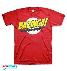 The Big Bang Theory T-Shirt - Bazinga Rossa XL