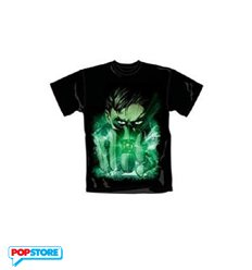 DC Comics T-Shirt - Green Lantern Close Up M