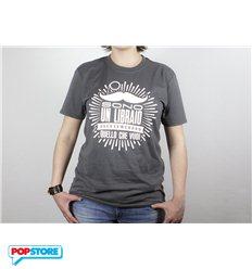 QUINDICI - T-Shirt - Sono Un Libraio XL