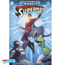 Superman Rinascita 002 Variant