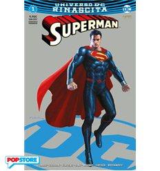 Superman Rinascita 001 Silver Chromium