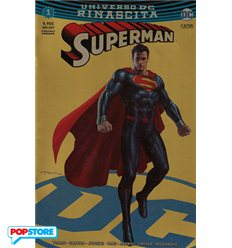 Superman Rinascita 001 Gold Chromium