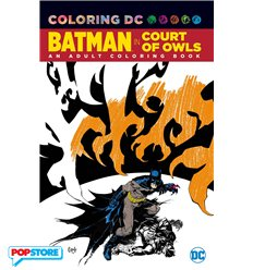 Batman The Court of Owls Coloring Book Tp