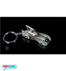 Batman Metal Batmobile Keychain