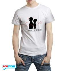 Your Name T-Shirt Logo Uomo M