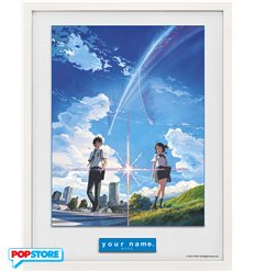 Your Name Stampa In Cornice 30x40 Poster
