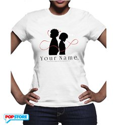 Your Name T-Shirt Logo Donna XL