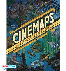 Cinemaps An Atlas of 35 Great Movies Hc