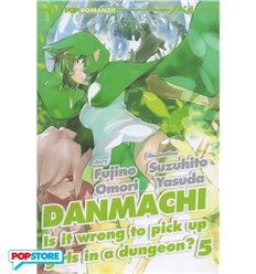 Danmachi Light Novel 005