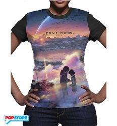 Your Name T-Shirt Tramonto Donna