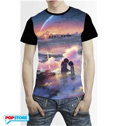 Your Name T-Shirt Tramonto Uomo L