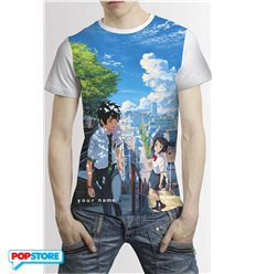 Your Name T-Shirt Incontro Uomo XL