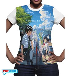 Your Name T-Shirt Incontro Donna L