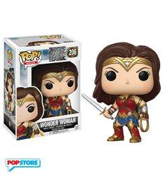 Funko Pop! - Justice League Movie - 206 Wonder Woman 9cm
