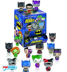 DC Comics Batman - Pint Sized Heroes - Espositore Minifigures 24pz