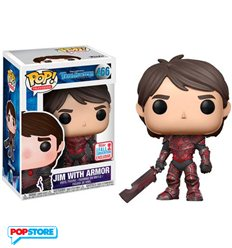Funko Pop! - Trollhunters - 466 Jim With Armor Nycc 2017 Convention Exclusives