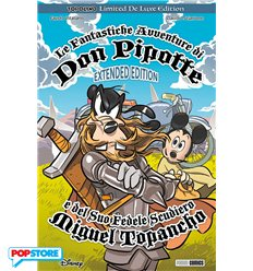 Topolino Limited De Luxe Edition - Le Fantastiche Avventure di Don Pippotte e del suo Sudiero Miguel Topancho