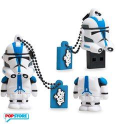 Usb 8 Gb - Star Wars - 501st Clone Trooper