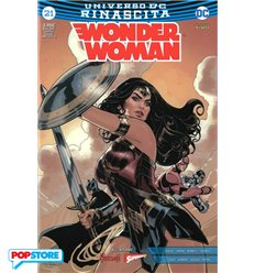 Wonder Woman Rinascita 021 Justice Variant