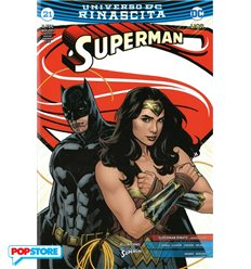 Superman Rinascita 021 Justice Variant
