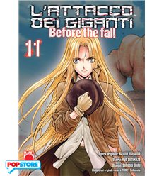 L'Attacco Dei Giganti Before The Fall Manga 011