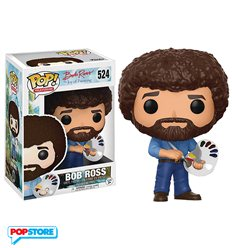Funko Pop! - Bob Ross (The Joy Of Painting)