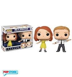 Funko Pop! - La La Land - Mia & Sebastian 2pack