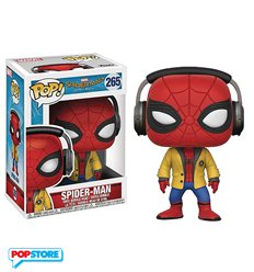 Funko Pop! - Marvel - Spider-Man Homecoming - Spider-Man With Headphones