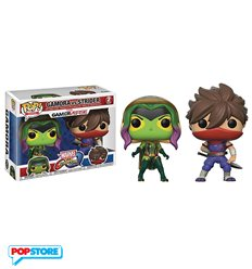 Funko Pop! - Marvel vs Capcom 2 Pack – Gamora Vs Strider