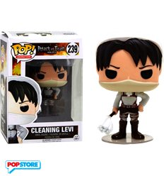 Funko Pop! - Attack On Titan - Cleaning Levi Limited Edition