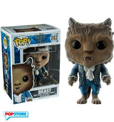 Funko Pop! - Disney's Beauty And The Beast - Flocked Beast